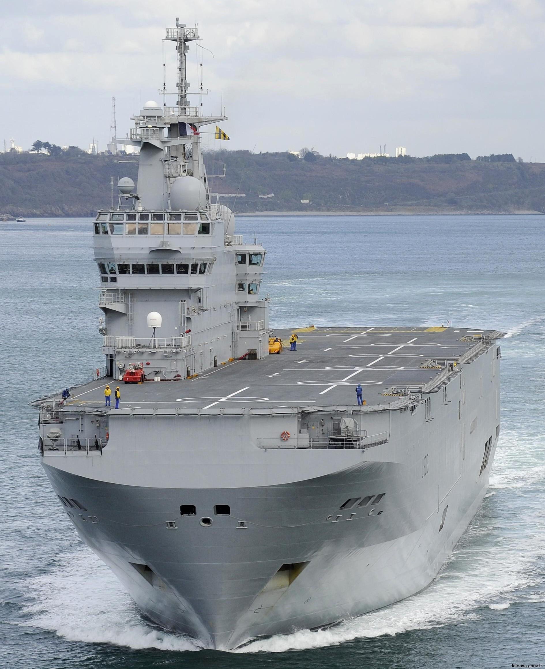 FS Mistral L 9013 Amphibious Asault Ship French Navy